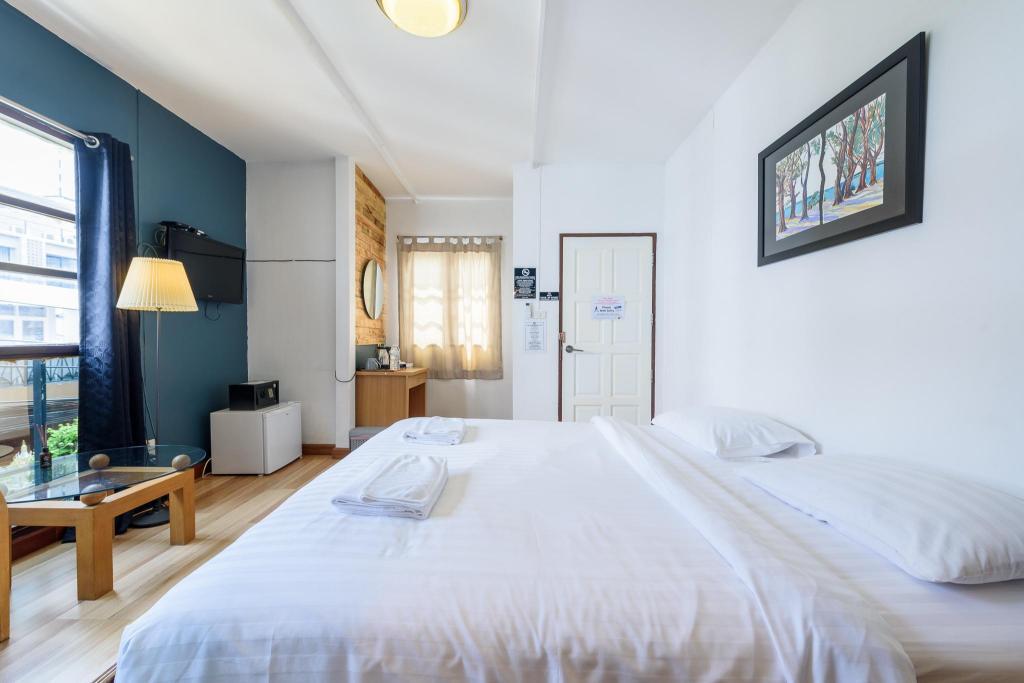 舒適雙人房 - 床