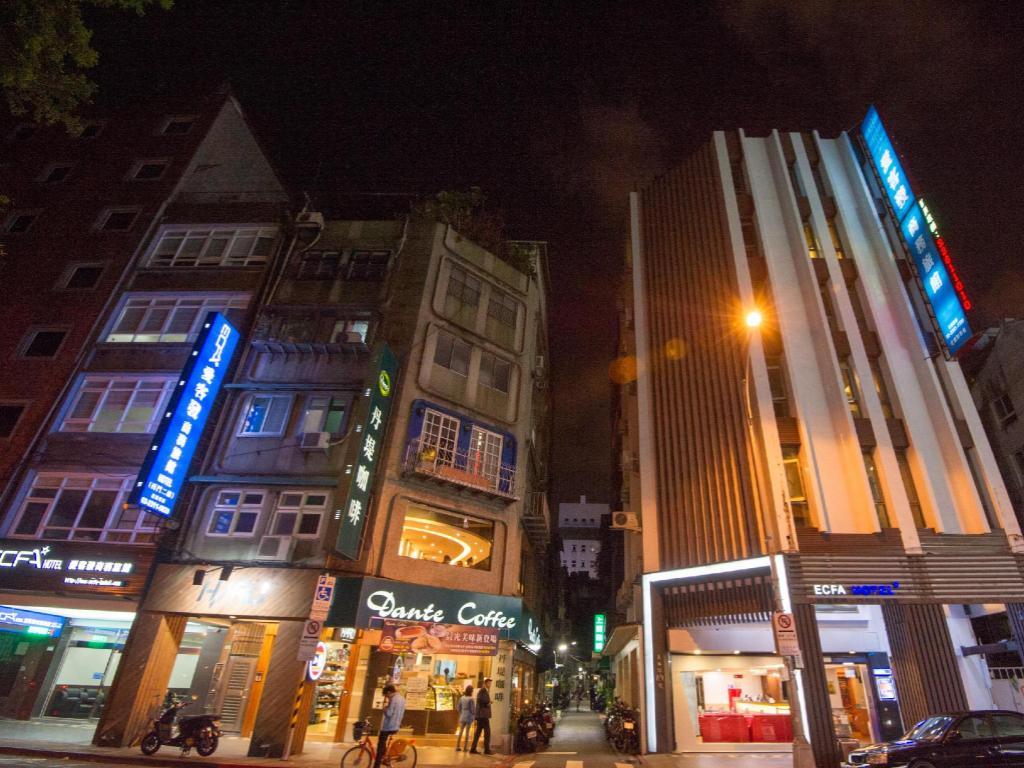 Best price on ecfa hotel ximen in taipei reviews for Design ximen hotel agoda