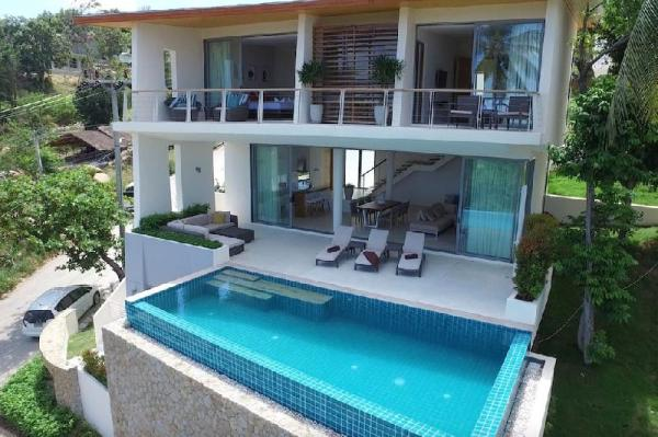 Award-Winning The Ridge Pure 6 (3-bedroom seaview) Koh Samui