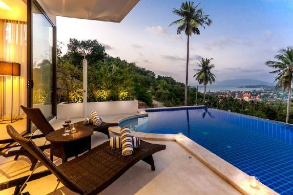 3-bedroom Seaview Villa (The Ridge Pure 5) Koh Samui