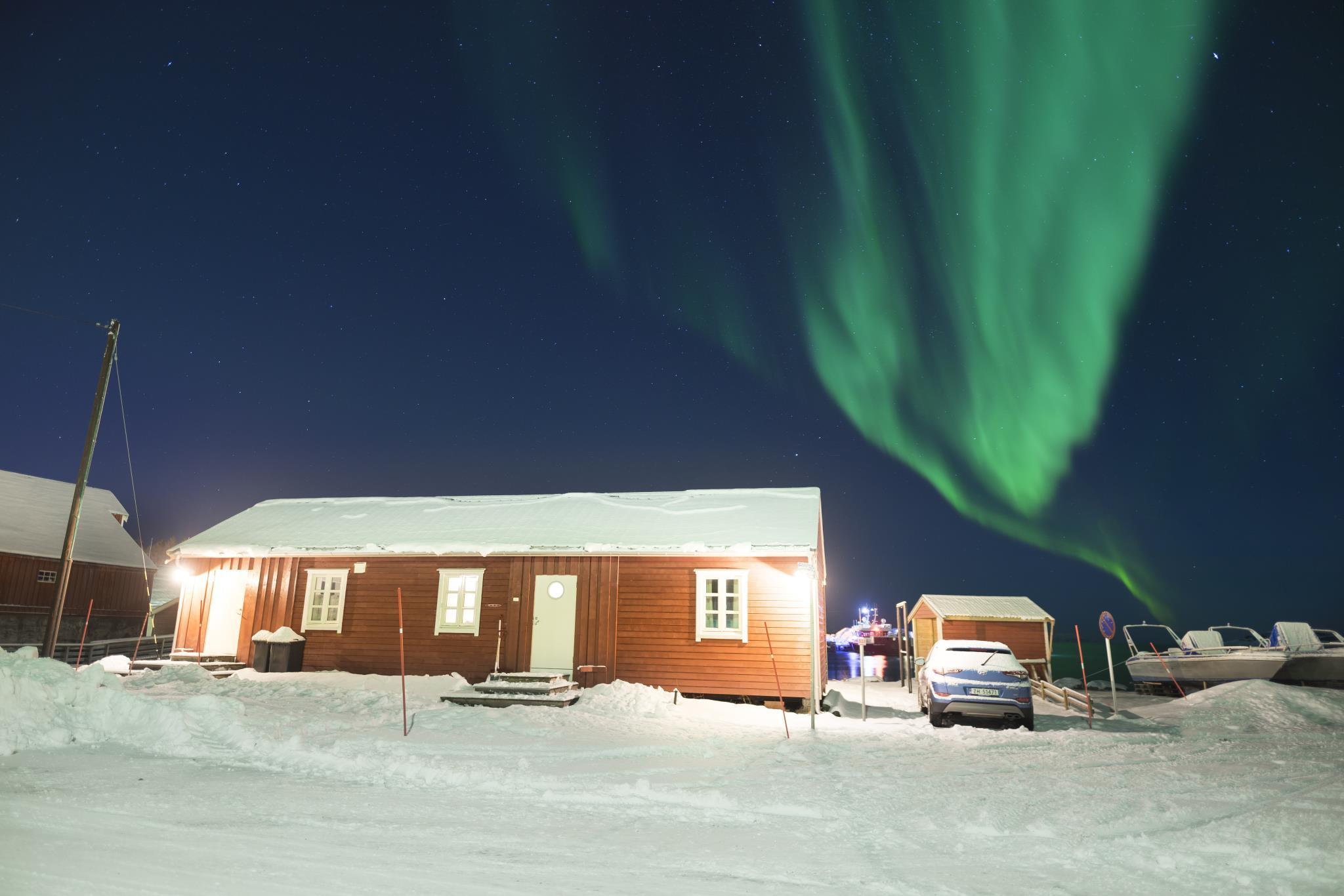 Senja Artic Cabins Skrolsvik, Tranøy