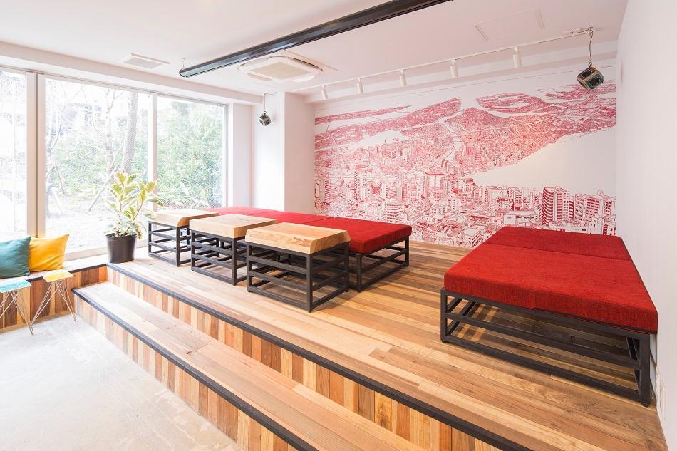Turn Table Hostel, Meguro