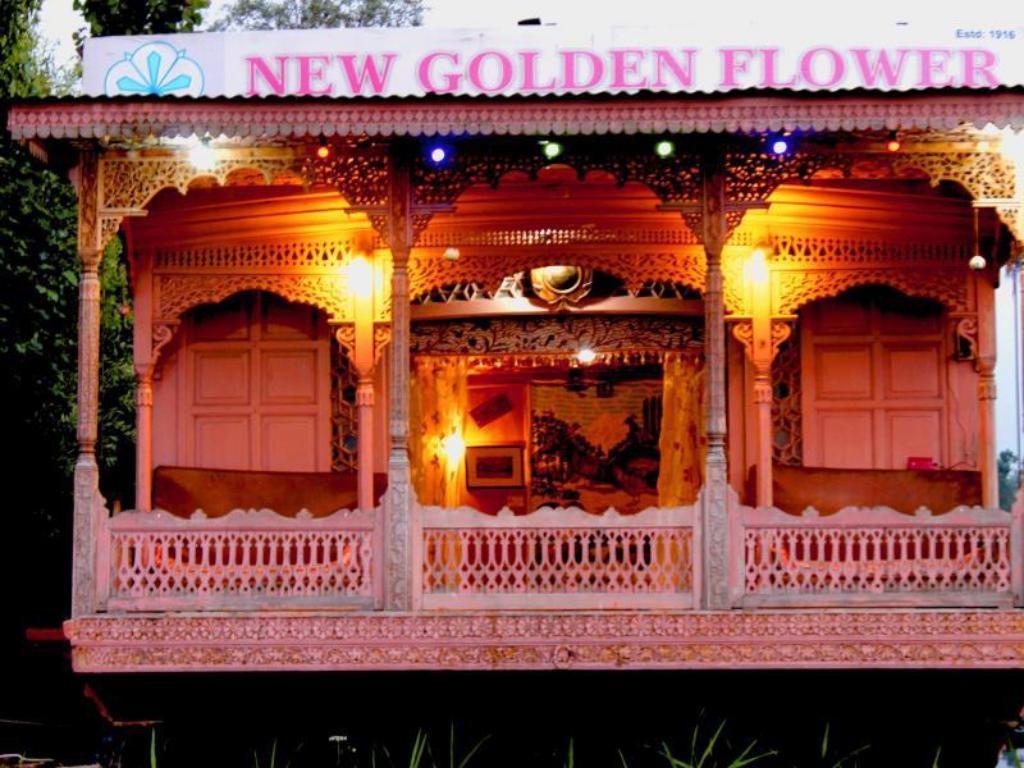 best price on new golden flower heritage houseboat in srinagar
