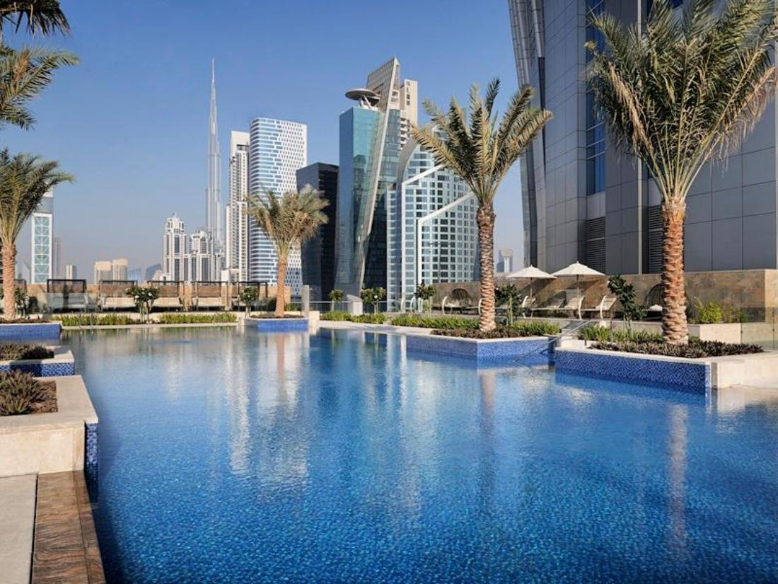 Best price on jw marriott marquis dubai hotel in dubai for Dubai world famous hotel
