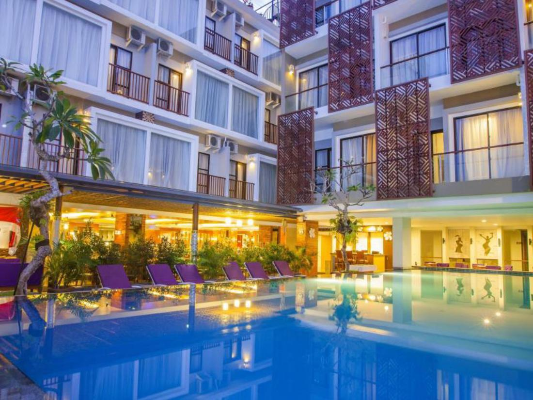 Best price on hotel horison seminyak bali in bali reviews for Good accommodation in bali