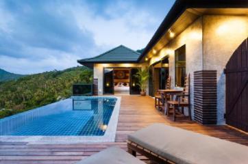 Villas avec piscine à Koh Tao Heights