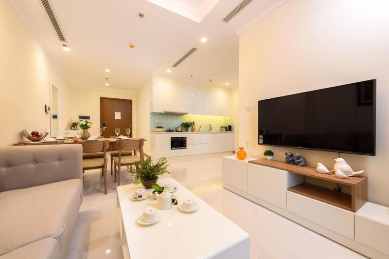 luxury, high-class apartment in ho chi minh