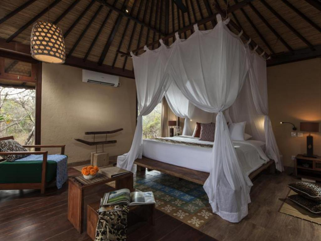 Cottage di Hutan atau Kebun - Kamar Tidur