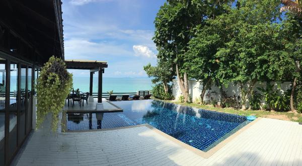 Villa Lilly Beach Front Villa Koh Samui