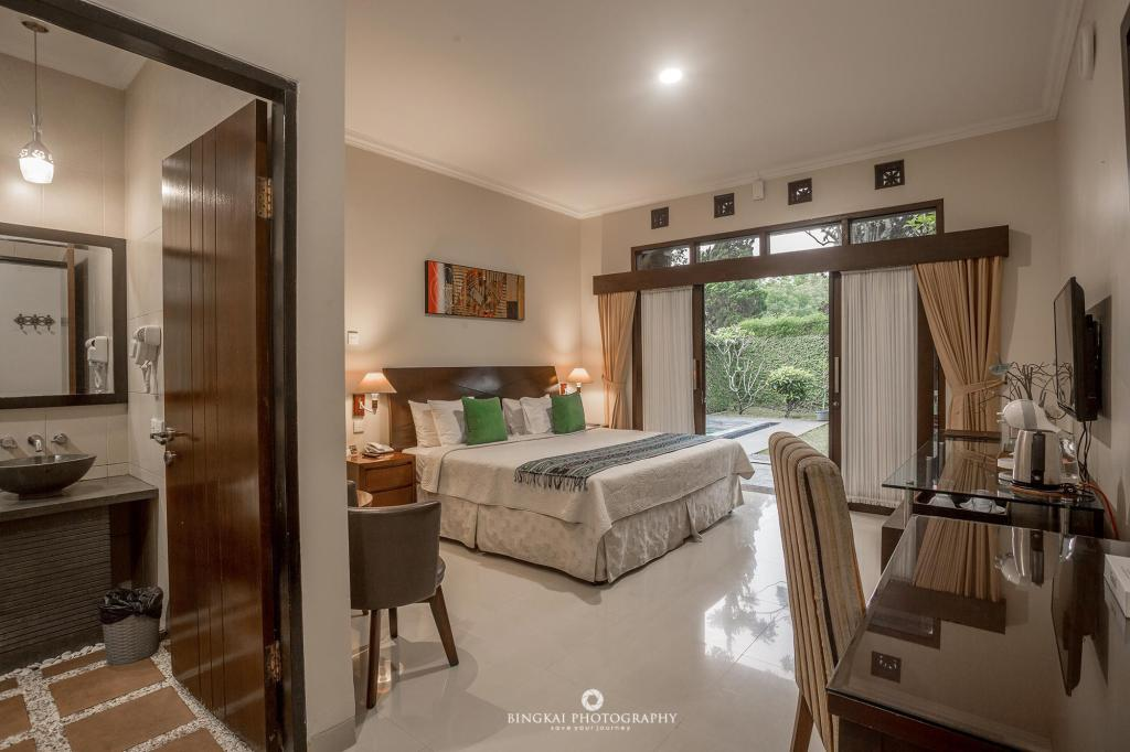 Kamar penginapan di Gracia Spa Resort