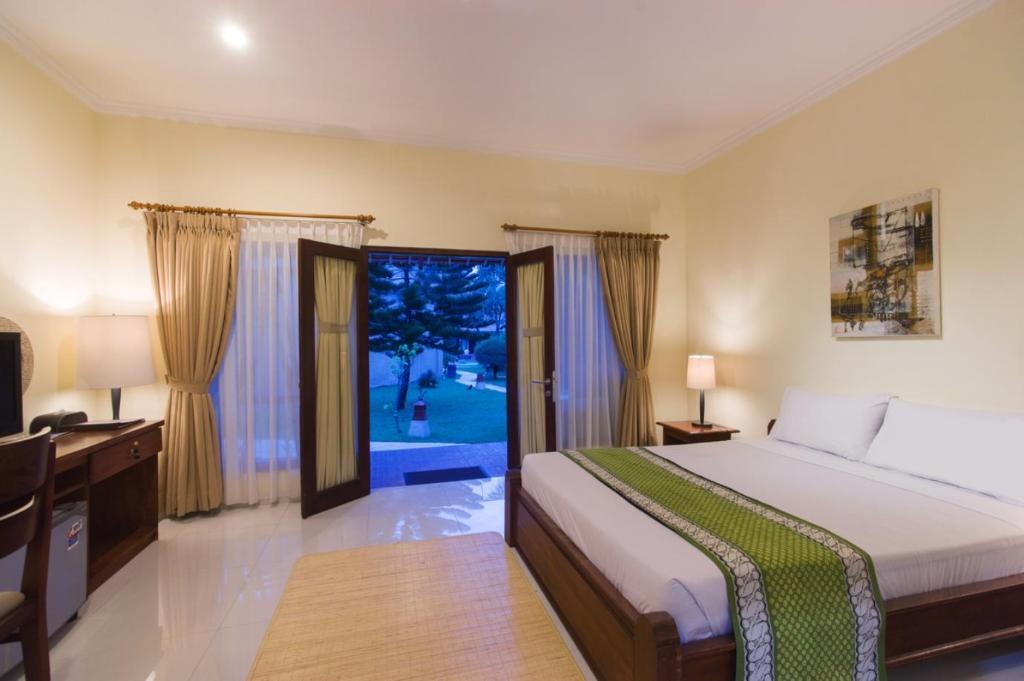 Kamar penginapan di Jambuluwuk Oceano Gili Trawangan Resort