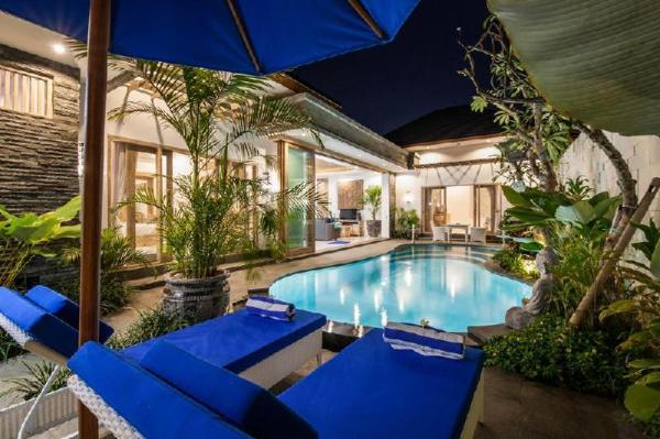 2 Bedrooms Luxury Villa In Heart Seminyak Bali