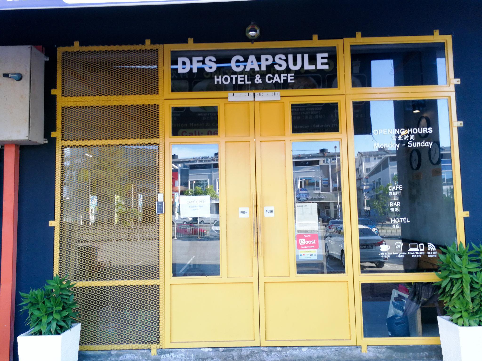 DFS Capsule Hotel, Kota Melaka
