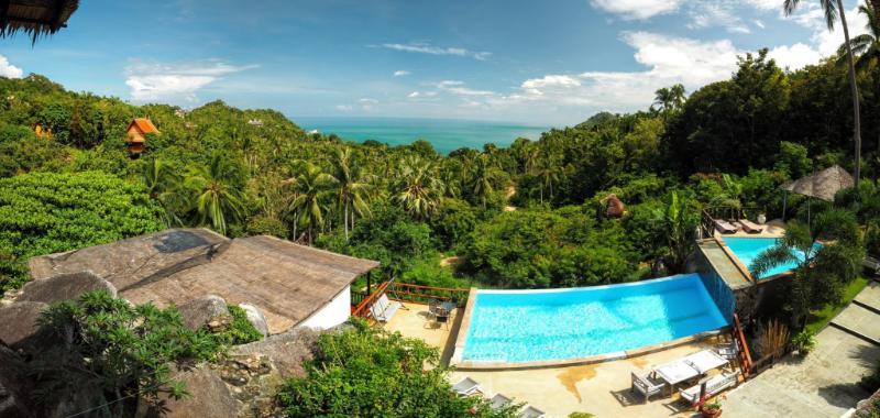 Paradise 5 beds villa/ access pool