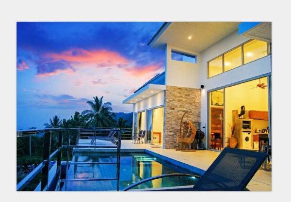 Perfect Villa Breathtaking Sea View (Eco-friendly) Koh Samui