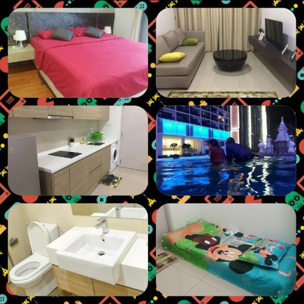 Tasneem Guesthouse@i-suite, i-city (2Br+1bathroom)