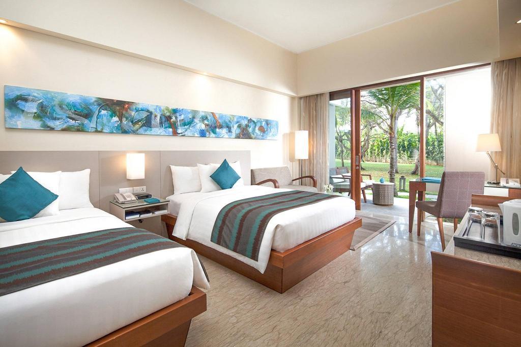 Kamar penginapan di Courtyard Bali Nusa Dua Resort