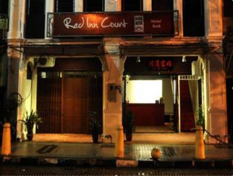 住宿 庭院紅色酒店 (Red Inn Court) 35 B&C, Jalan Mesjid Kapitan Keling, 喬治市, 檳城, 馬來西亞, 10200