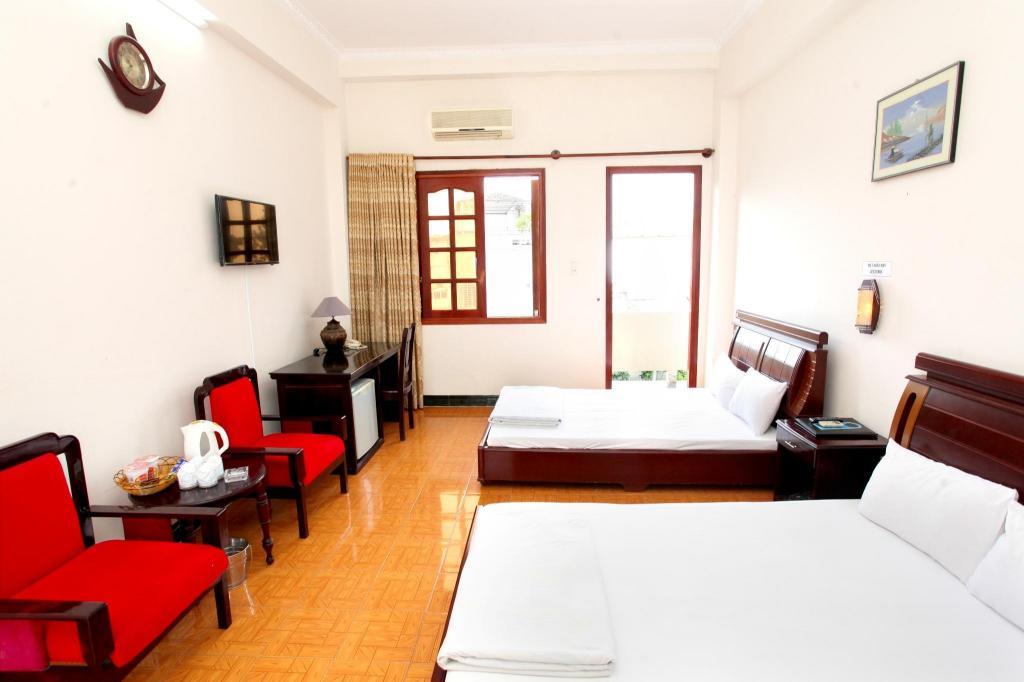Phòng có 2 giường đôi - Phòng ngủ