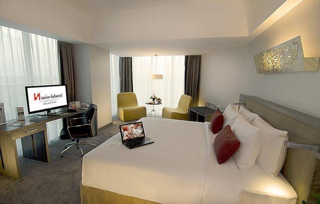 Kamar penginapan di Swiss-Belhotel Balikpapan