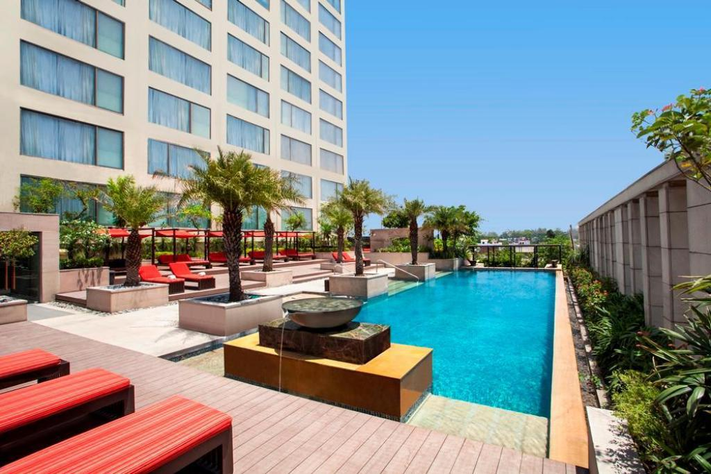 阿姆利则凯悦酒店室外游泳池