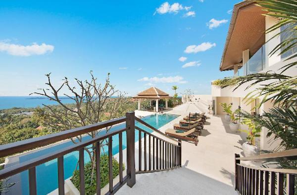 Pool on the Hill 5BDRM Seaview Eco-Friendly Koh Samui