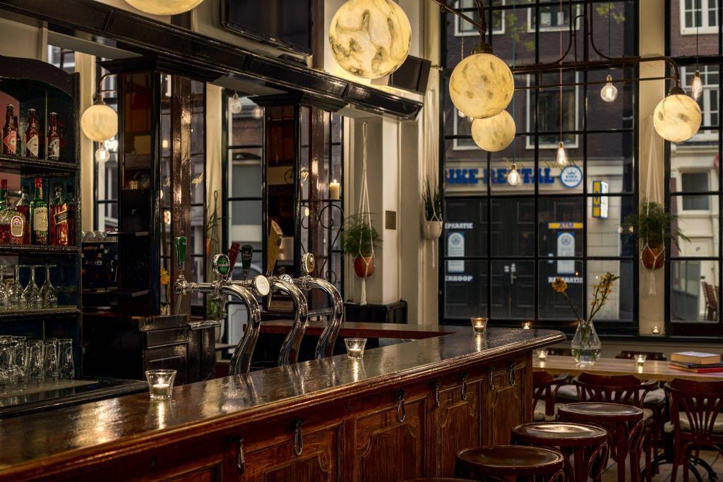 阿姆斯特丹万丽酒店酒吧/休闲厅