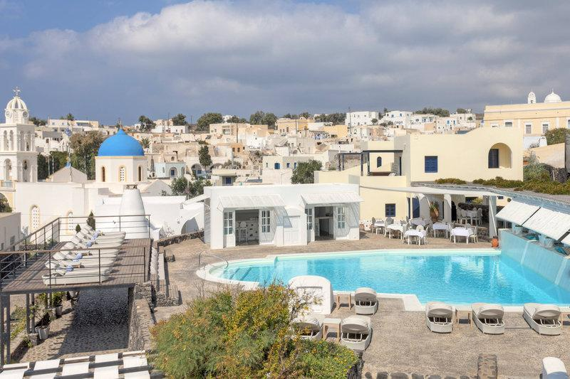 Best Hotels in Santorini : Youth Hostel Anna
