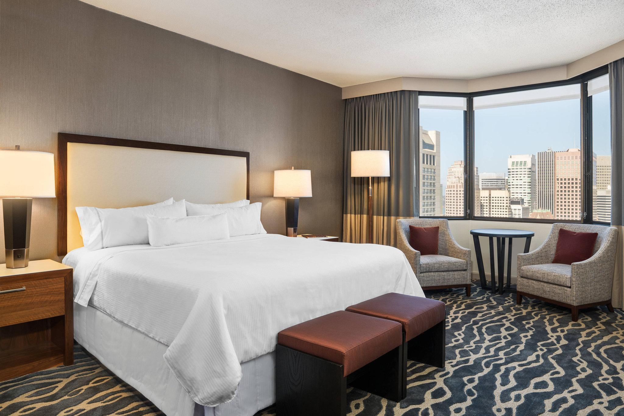 Grand Deluxe, Guest room, 1 King, City view, Tower