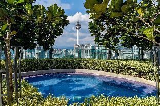 Rooftop Jaccuzi Pool@The Robertson 1BR 3Pax KL, Kuala Lumpur