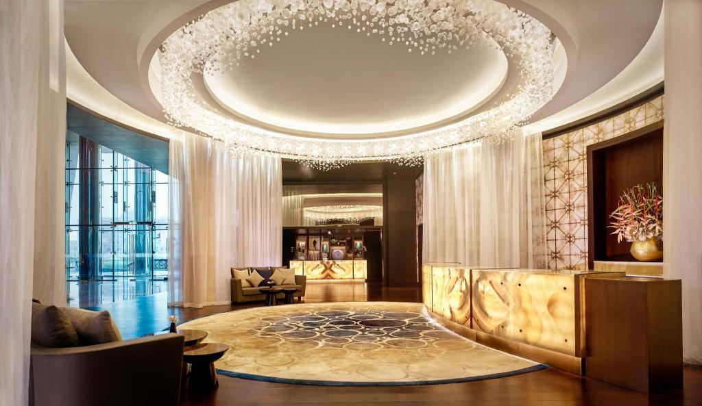 阿布扎比君悦大酒店及阿联酋珍珠旅馆入口
