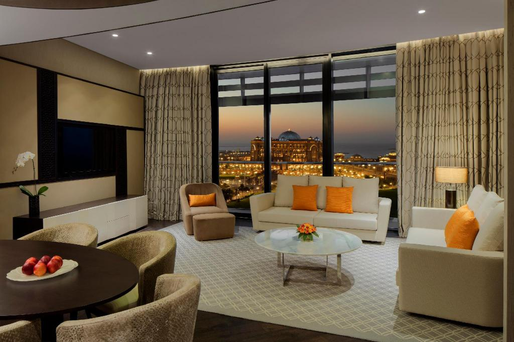 Grand Hyatt Abu Dhabi Hotel and Residences Emirates Pearl 2 Bedroom Apartment - 景观
