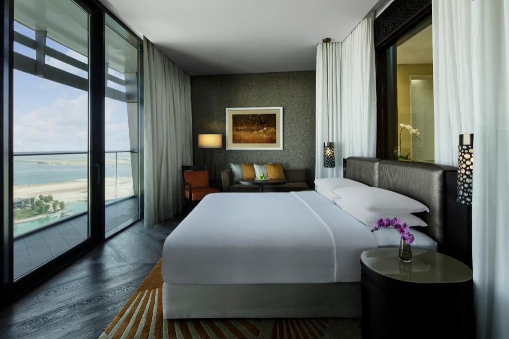 阿布扎比君悦大酒店及阿联酋珍珠旅馆1 Bedroom Apartment - 床型