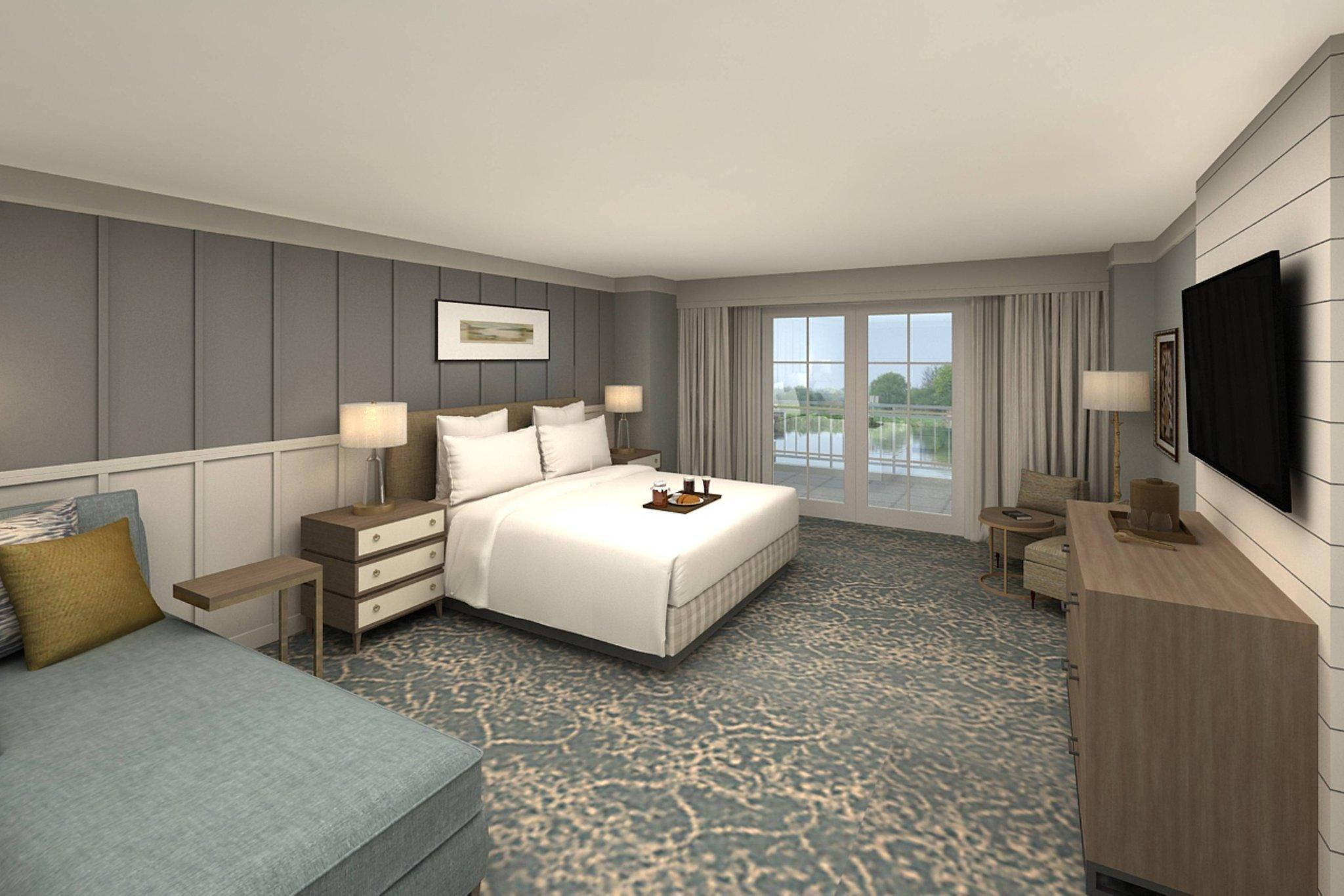 Larger Guest room, 1 King, Resort view, Spa Building