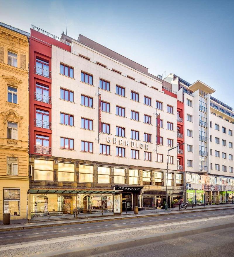 グランディオール ホテル プラハ