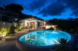 Luxury Thai Style Villa with Rock pool Sea-View. - Koh Samui