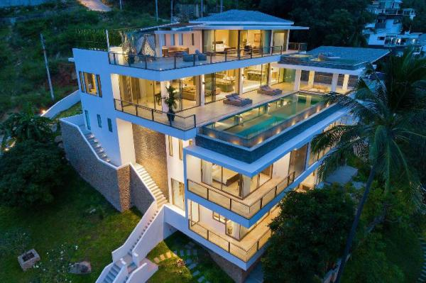 Villa ONE | NEW Luxury 4BR Sea View Villa Chaweng Koh Samui