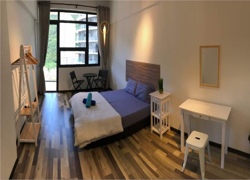 Penang CozyView Apartment  3A-18-02 for 6 to 8 pax