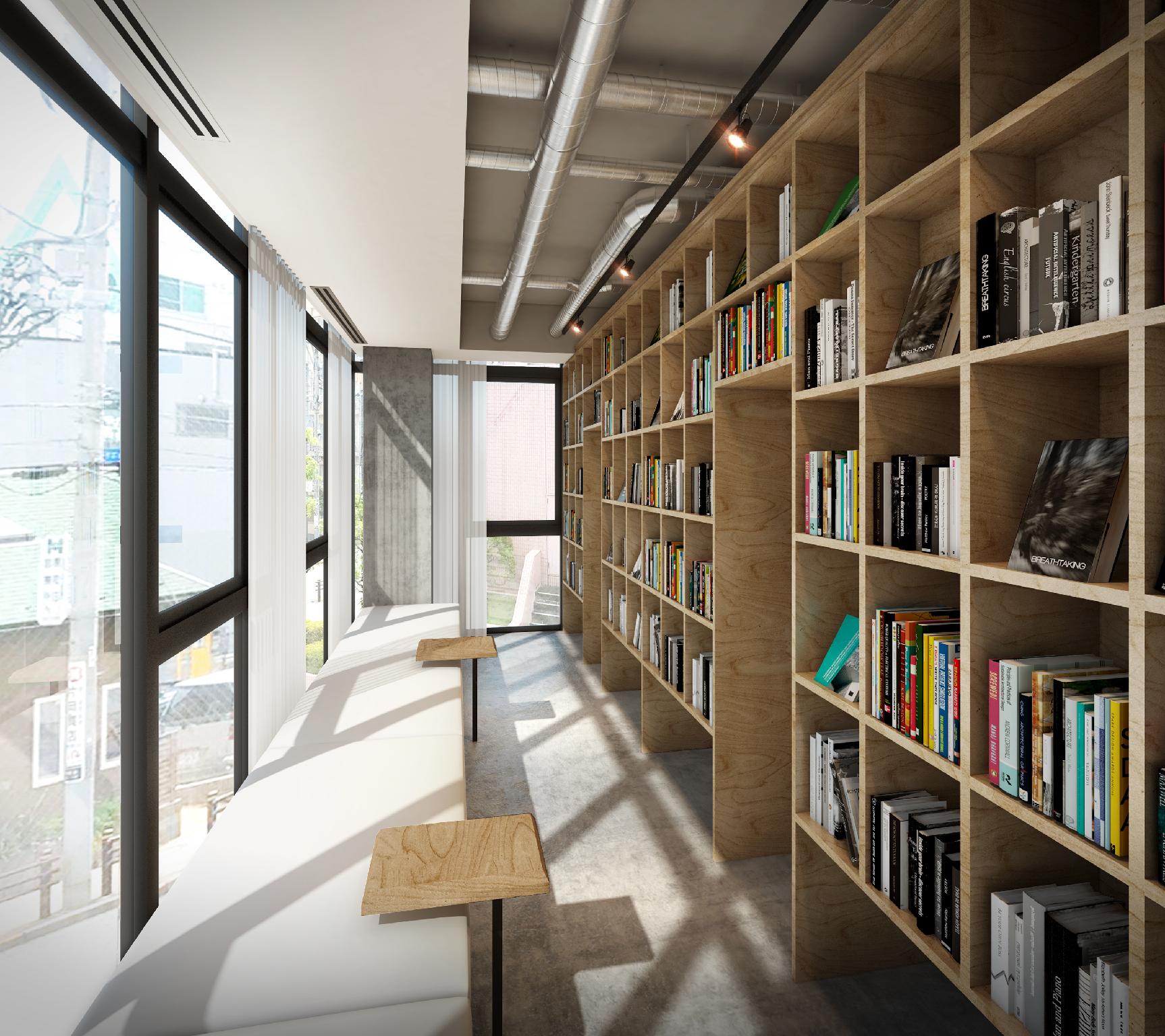 BUSOAN Library & Hostel, Machida