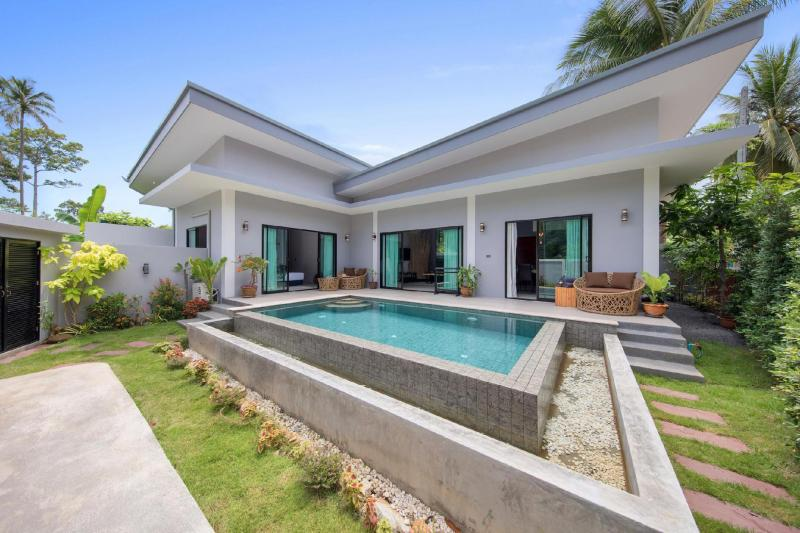 Villa Baan Suaan Bua. 3 bedroom villa with pool. Set in nature a Samui hideaway! - 19520720