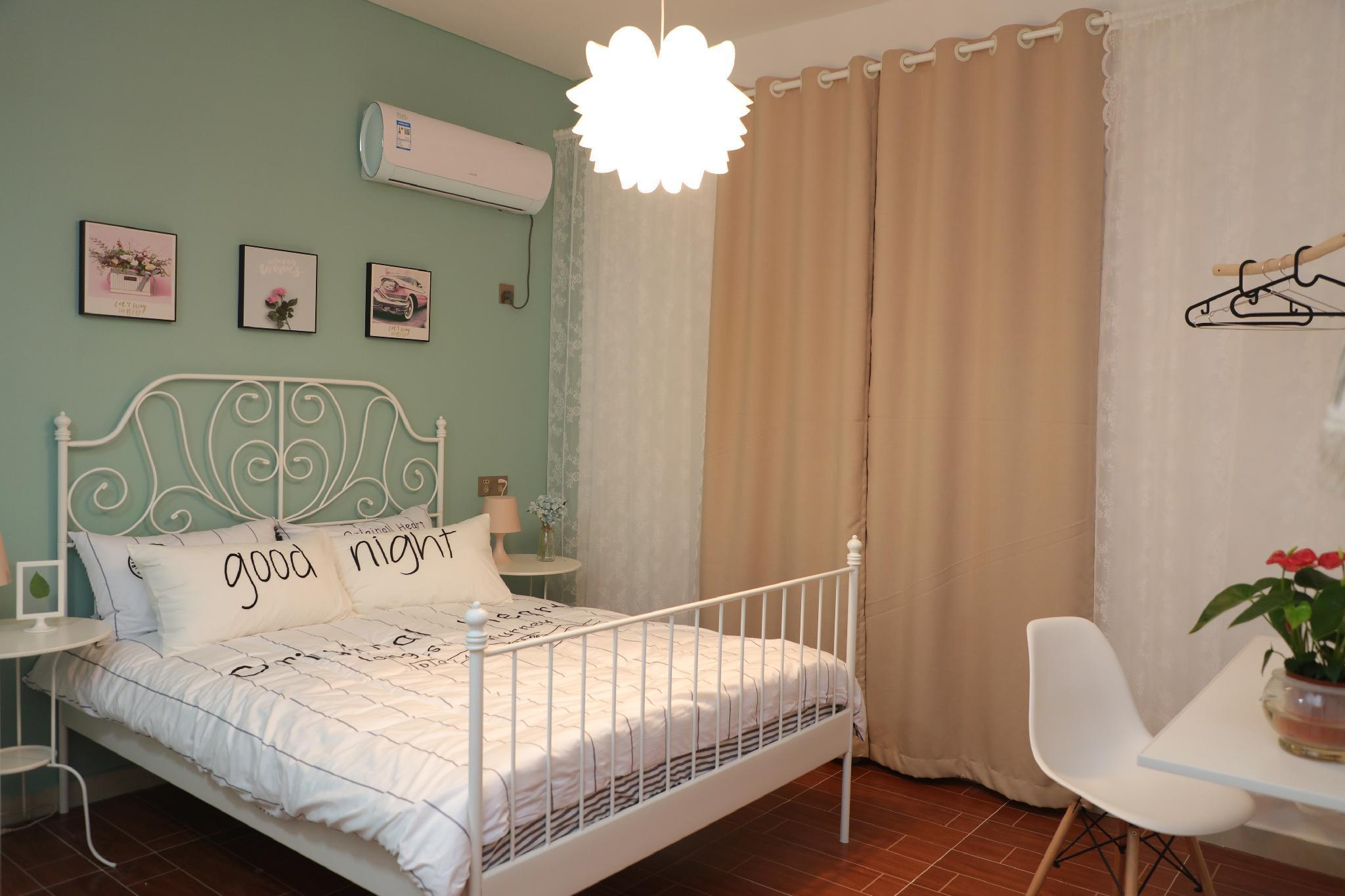 Nordic Style Comfortable Big Bed Room Iceland