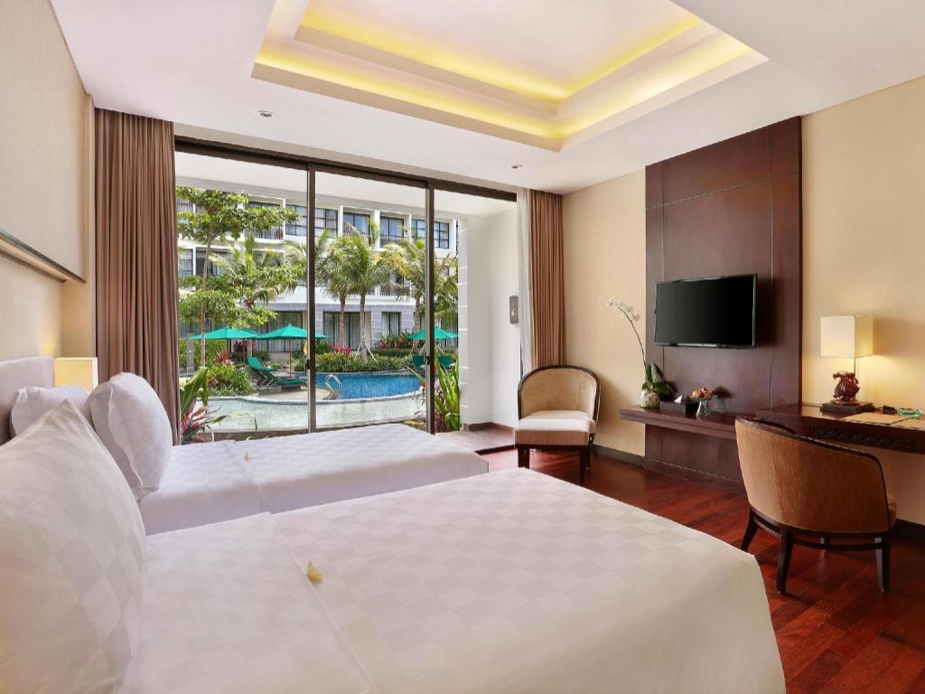 Kamar penginapan di Bali Nusa Dua Hotel