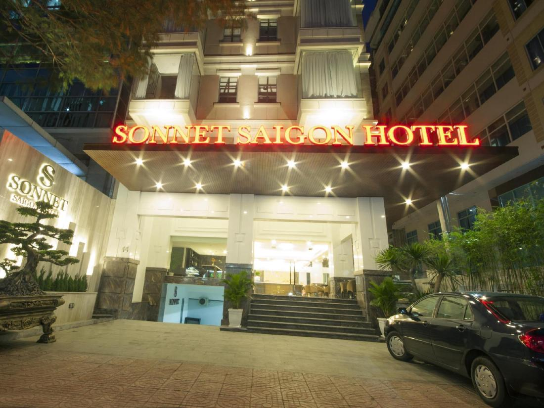 best price on sonnet saigon hotel in ho chi minh city. Black Bedroom Furniture Sets. Home Design Ideas