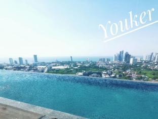 French window studio & city view - Pattaya