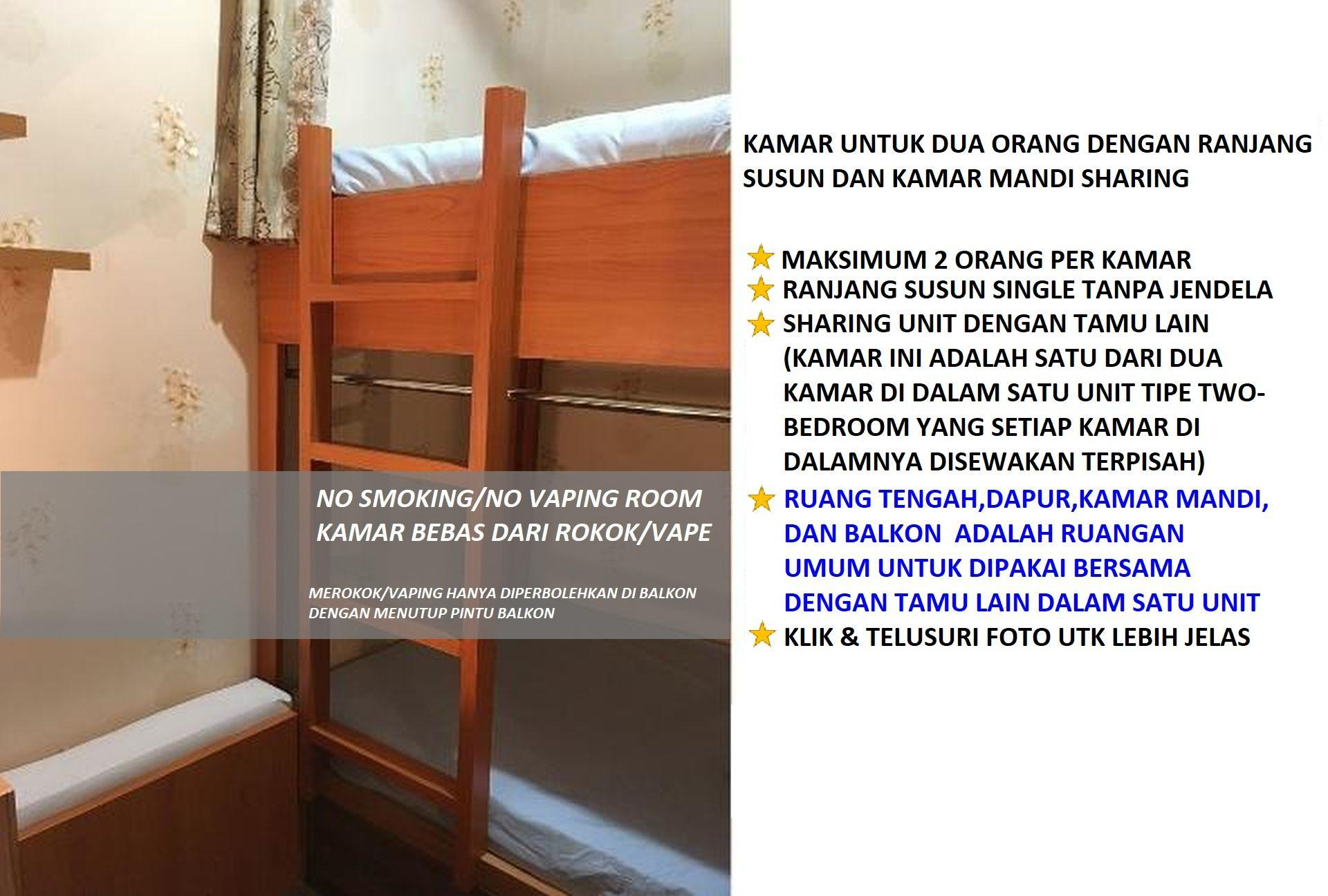PoPBnB Backpacker Hostel @ Tamansari Panoramic, Bandung
