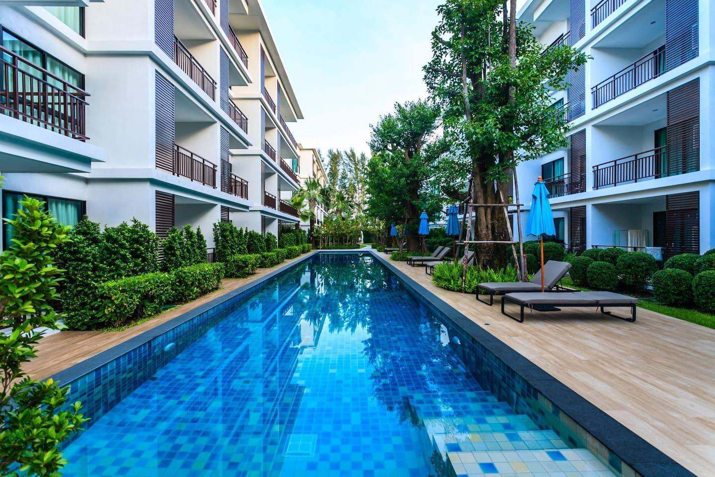 The Title Resort F101A - Direct pool access 2 BR