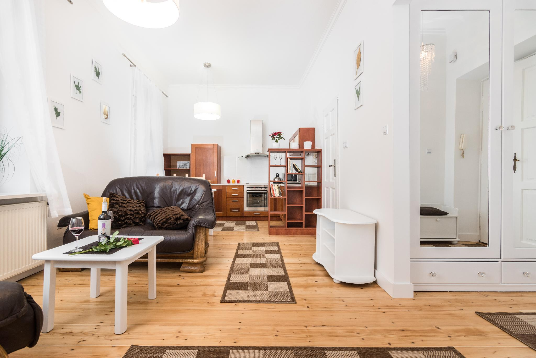 Luxurious One-Bedroom Ap. 5 min from Main Square