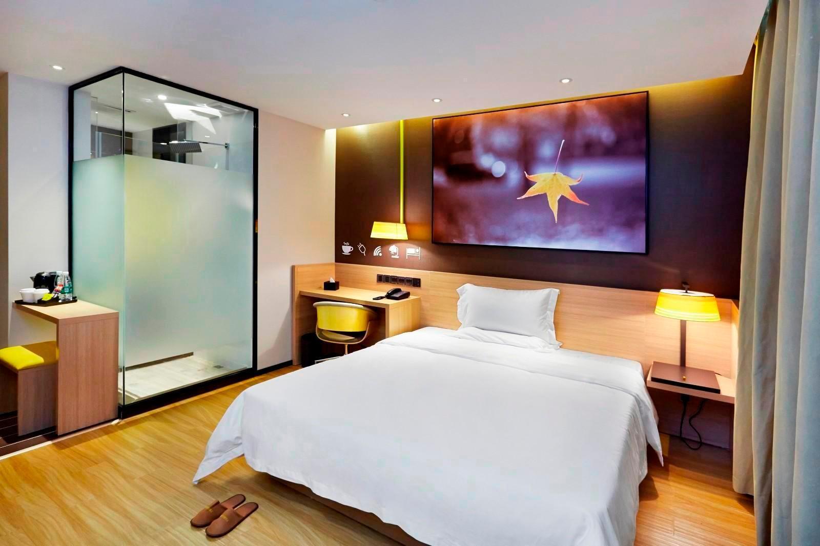 IU Hotels·Meishan Sansuci Statue Square Wanjing Dream City, Meishan