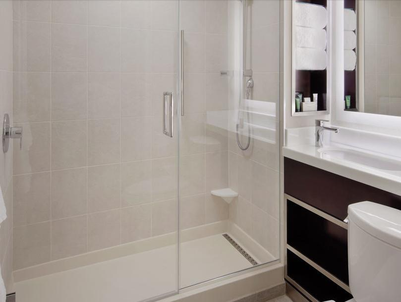 View Mobility Hearing Accessible Roll in Shower 1 Bed