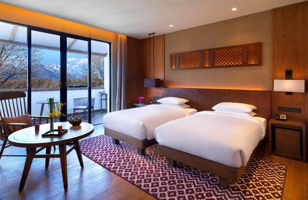 Deluxe Twin Bed Room - 睡床